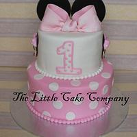Minnie Mouse 1st birthday!