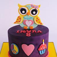 The Yellow Owl cake