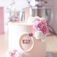 Carnations Cake