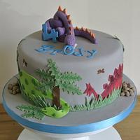 Dinosaur Cake by Gill Earle