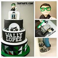 Dj Wally Lopez Cake