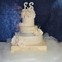 Wedding cake for Eleonora and Stefano