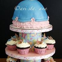 Barbie Doll Cake/Cupcake