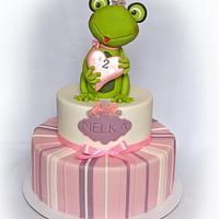 Frog cake..