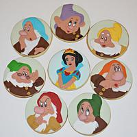 Snow White and Seven Dwarfs cookies