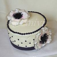 cake with anemonií