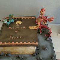 Dragons cake