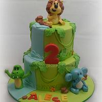 Raa Raa the Lion Birthday Cake