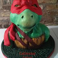 Raphael.. Ninja Turtle Cake