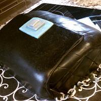 purse cake for a purse designer