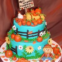 Blue Harvest Cake