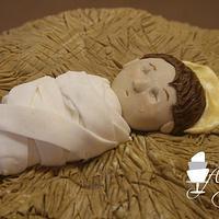 Away in a manger by Rachel Skvaril