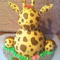 Giraffe Cake by Nikki Belleperche