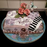 Violetta Cake...