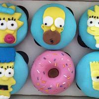 Simpsons Cupcakes
