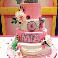 Pink princess fantasy