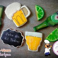 Galletas Heineken