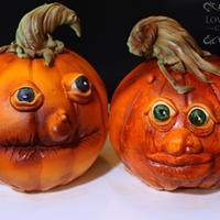 Grampa and Grandma Pumpkin