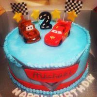 Disney Cars Cake by Michelle Allen