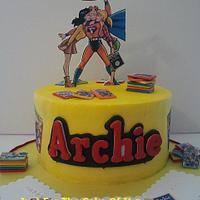 Archie Comics Cake