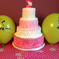My daughter Arwens 2nd birthday cake