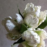Sugarpaste/Gumpaste Parrot Tulips