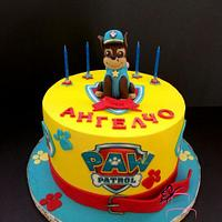 Cake inspired by Paw patrol
