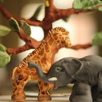 Gum Paste Elephant
