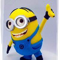 Dave Minion Going Bananas Over A Banana!