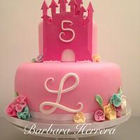 Cake castle princesses