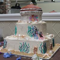 Catalina Island Wedding Cake