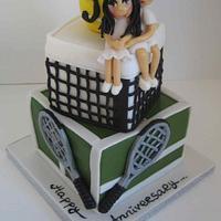 wimbledon anniversary cake