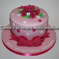 Simply roses cake