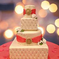 Square & Round Wedding Tiers