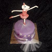 Angellina Ballerina Cake