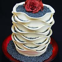 A special cake for a special Lady