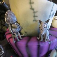Tim Burton Character Cake by JulieFreund