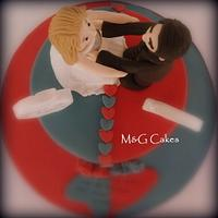The Loooove cake! by M&G Cakes