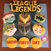 League of Legend Cupcakes