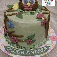 "The ""Older and Wiser"" Cake by Jenny"