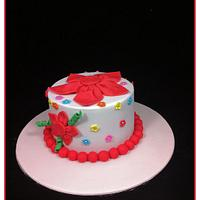 Wedding Anniversary Cake by Lydia Evans