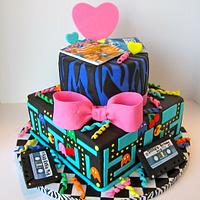 Awesome 80s cake