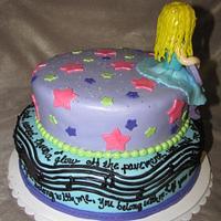 Taylor Swift Cake by Tiffany Palmer