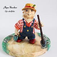 Mr McGregor. Peter rabbit project