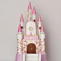 Princess Dream Castle Cake