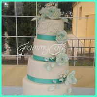 The Tiffany Wedding Cake