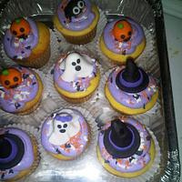 Halloween cupcakes!!!!