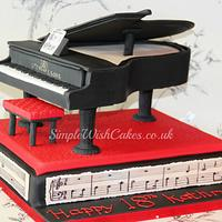 Grand Piano by Stef and Carla (Simple Wish Cakes)