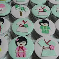 Cupcakes Japanese Designs