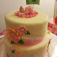 Blooming Shower Cake
